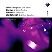 Schoenberg / Sibelius / Shostakovich / Puccini: Works for Strings