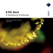 Bach, Cpe: 4 Hamburg Sinfonias