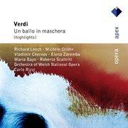 Verdi : un ballo in maschera [highlights] cover image
