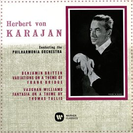 Cover image for Britten: Variations On A Theme Of Frank Bridge - Vaughan Williams: Fantasia On A Theme By Thomas ...