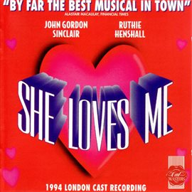 Cover image for She Loves Me (1994 London Cast Recording)