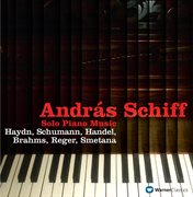 András schiff - solo piano music cover image