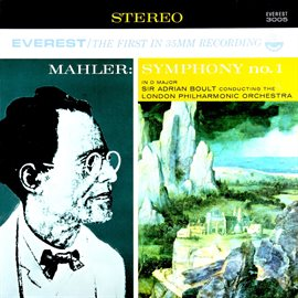 "Cover image for Mahler: Symphony No. 1 In D Major ""Titan"" (Transferred from the Original Everest Records Master Tape"