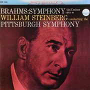Brahms: symphony no. 4 in e minor, op. 98 cover image