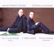 Georg Friedrich Händel: A Flauto E Cembalo