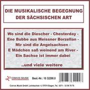Die musikalische begegnung der s̃chsischen art