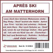 Aprš Ski Am Matterhorn
