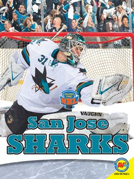 San Jose Sharks by Laura Winters, book cover