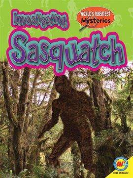 Cover image for Investigating Sasquatch