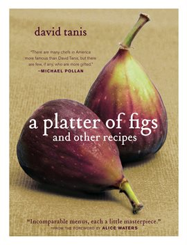 Cover image for A Platter Of Figs And Other Recipes