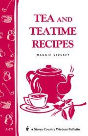 Tea and teatime recipes cover image