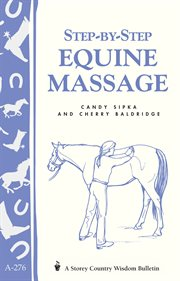 Step-by-step equine massage cover image