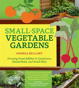 Small-Space Vegetable Gardens, book cover