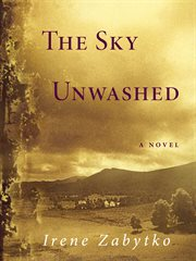 The sky unwashed: a novel cover image
