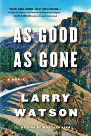 As good as gone: a novel cover image