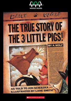 Cover image for The True Story Of The 3 Little Pigs