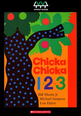 Chicka Chicka 1, 2, 3, book cover